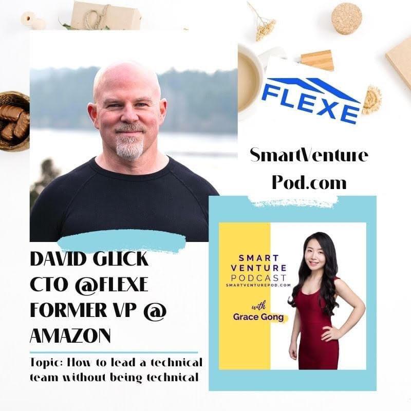 EP 53 David Glick CTO @Flexe, ex-VP @Amazon  🍎 Apple:  🎤Spotify:  💻Website:  🍿YouTube:    #amazon #vp #flexe #cto #investor #fulfilment #tech #ecommerce #VC #VentureCapital #leadership