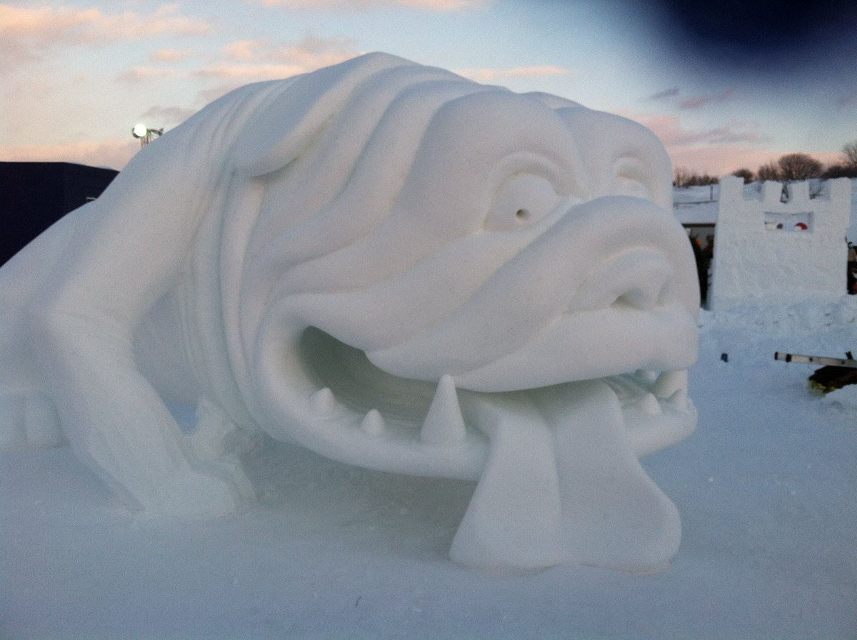 Good evening @PascoSheriff  Ohio can go on the map!  Everyone have a great night.  Sorry I'm late!  🙏🏻💙 #9PMRoutine  ❄️❄️❄️☃️⛄️ #snow #SnowSculpture #art #dogs #CatsOnTwitter