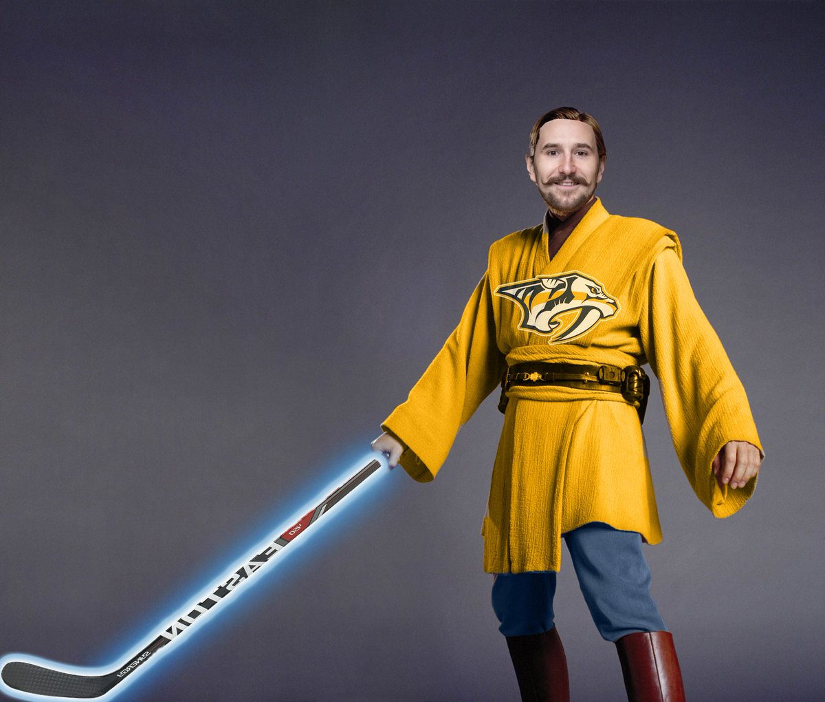 Filip Forsberg might be the #Preds only hope as co-host @colinblouin depicts here.  We're getting into it in less than an hour for Episode 13!  @hockeypodnet #THPN