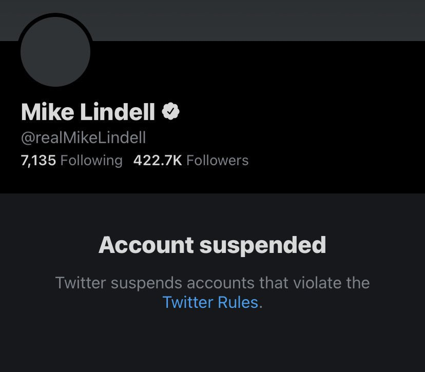 As I lay my head down on a nice anti fascist pillow, I see that Mike (hates democracy) Lindell has been suspended from Twitter and realize sometimes it's the little things that will put a smile on your face😏