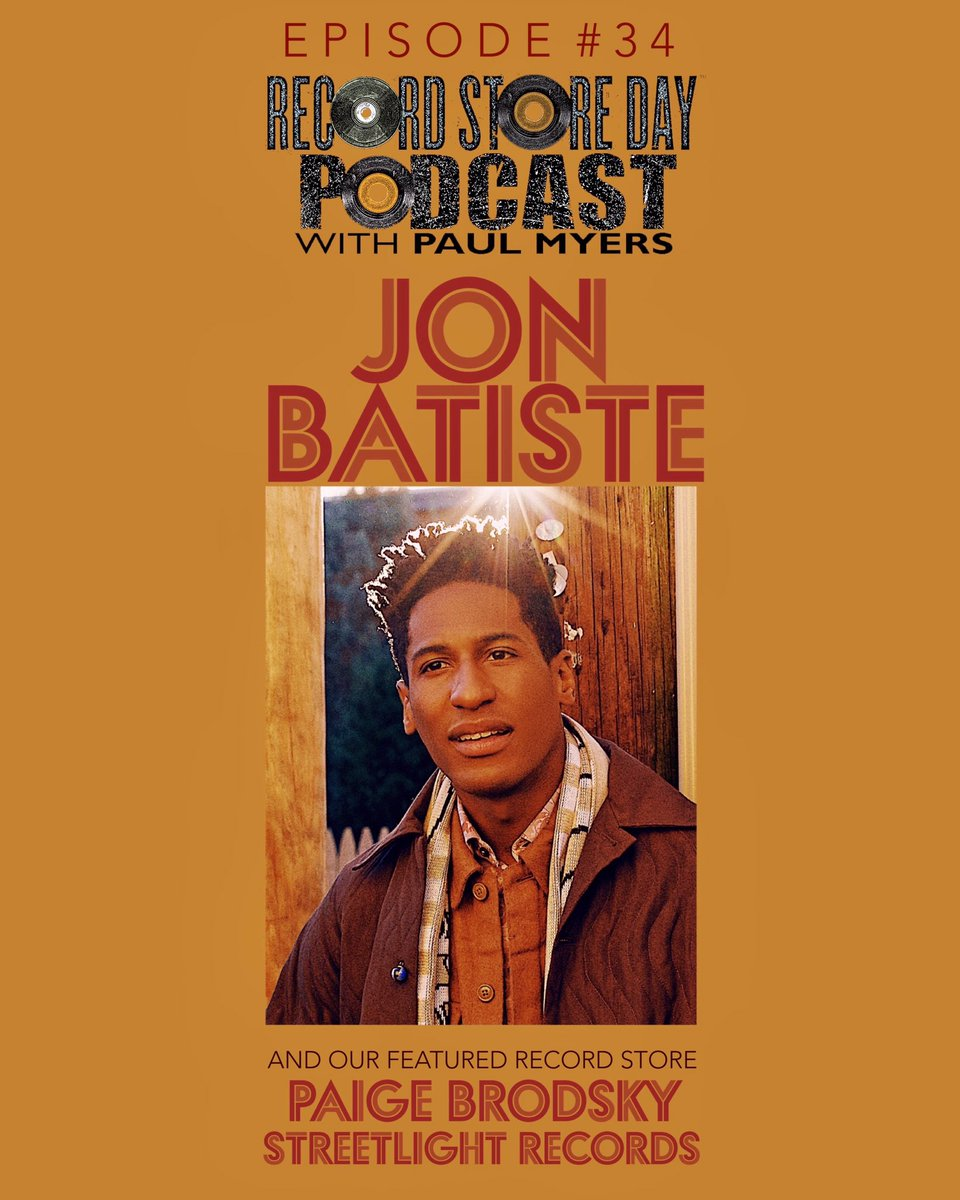 NEW! Record Store Day Podcast #34: Jon Batiste on Pixar's Soul, his upcoming We Are, growing up in New Orleans, and why he doesn't care for musical genres. Plus featured indie store: Streetlight Records' Paige Brodsky. Subscribe wherever you get podcasts.
