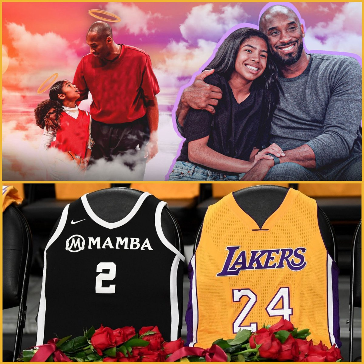 Hate to believe that it's been a year since we lost you. Somehow, today hurts just as much as it did 365 days ago. It hasn't been the same w/o you Mamba 🐍 We miss you and Gigi every day 🥺   Rest in Peace #Kobe #Gigi and everyone who perished on 1/26/2020 🙏🏼🕊 #MambaForever