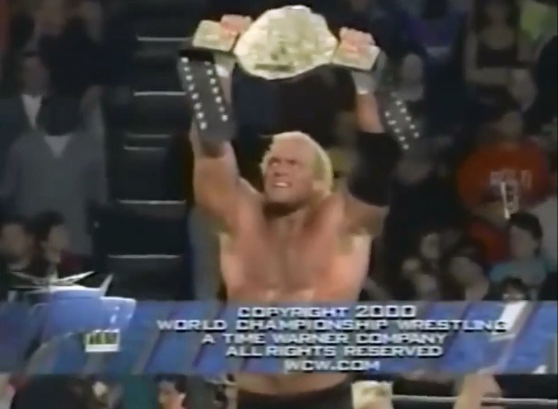 On this day in 2000, @realsychosid won the WCW World Heavyweight Championship for the 2nd and final time #WCW #WCWThunder #WCWTitle #WCWChampionship