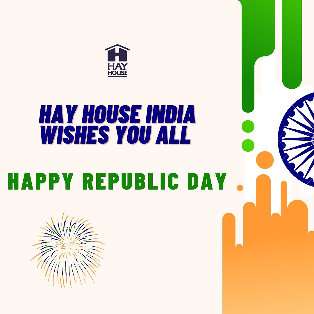 Hay House India wishes you all Happy Republic Day! 🇮🇳🙏 . . . . . . . #hayhouseindia #hayhouse #bookblogger #publishinghouse #bookstagram #unitedbookstagram #happyrepublicday🇮🇳 #republicday #26thjanuary