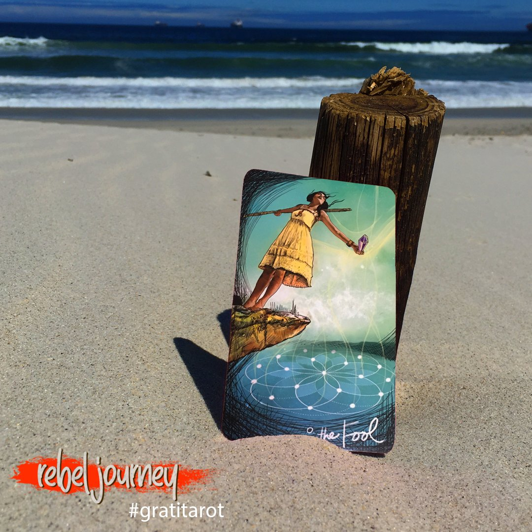 I am grateful that I can make mistakes and keep going. I pick myself up and try again. I am grateful that the bad days come and go. That there is always tomorrow. What gratitude does this image inspire for you? #gratitarot #gratitude #tarot #capetown #lightseerstarot