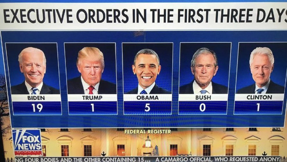 "Replying to @barnes_law: Remember when they said executive orders were the sign of ""dictatorship""?"