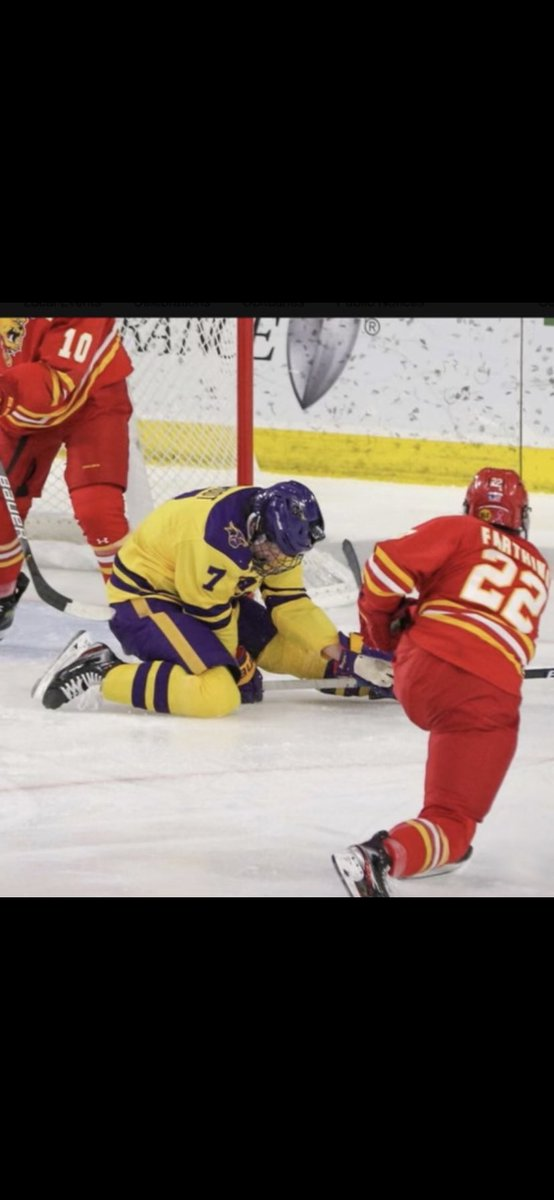 @Buccigross When you're blocking shots like @MavHockey's @aamodt_5 are you surprised? #gutty #ouch