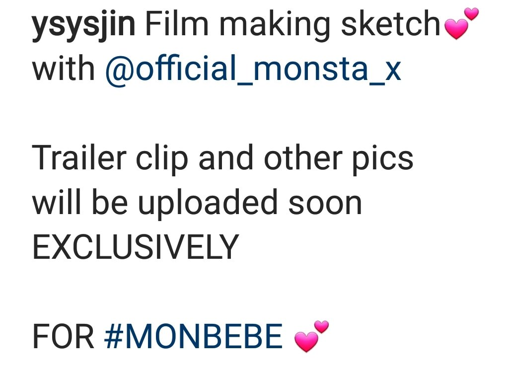 몬스타엑스 필름 메이킹 스케치 Film Making Sketch with Monsta X  Trailer clip and another pics will be uploaded soon EXCLUSIVELY