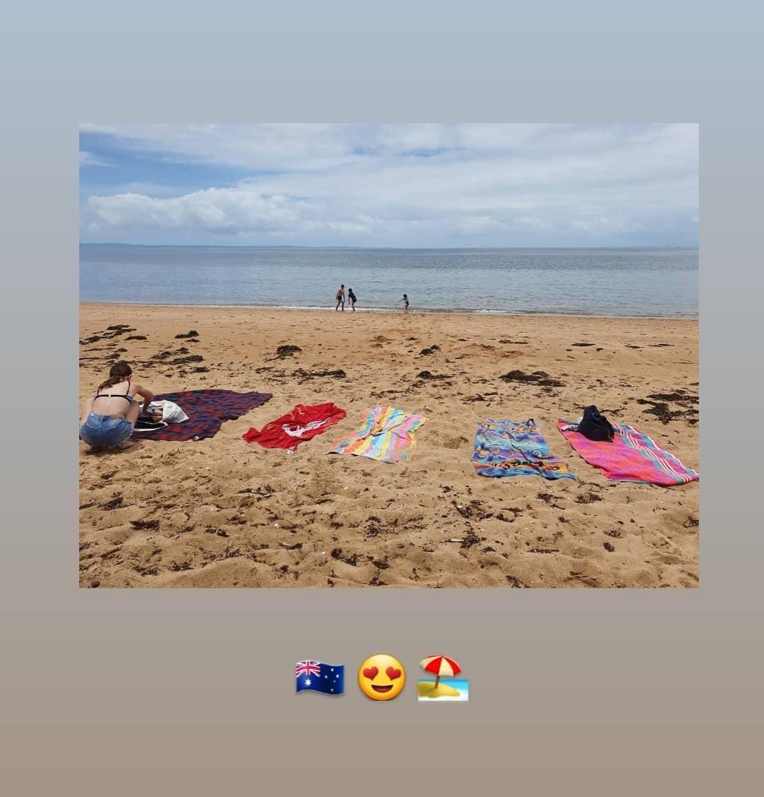 Happy Australia Day #celebrating #AustraliaDay #Australia #queensland #beach #family 🇭🇲