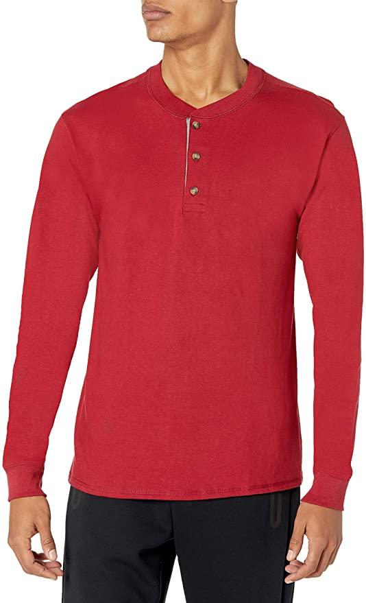 29% Off!!!  Hanes Men's Long Sleeve Beefy Henley Shirt     #BwcDeals #Deals #clearthelists #dailydeals  #DealsAndSteals #fashion #Amazon