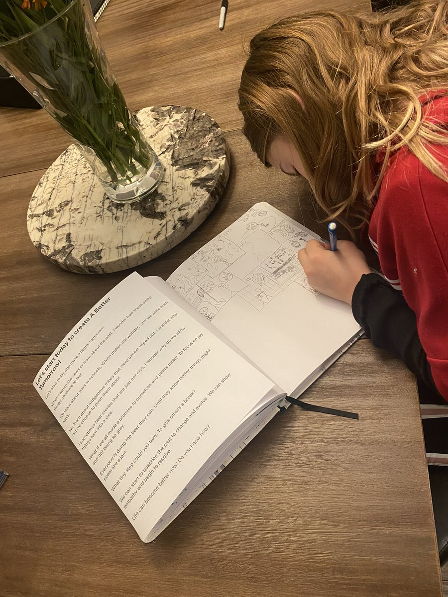 So I wrote my next book and am getting ready to start my illustrations for it. Ella decided she was going to plan out each illustrations for me and is making a storyboard 💖 #momlife #momsofinstagram #authormom #creativekids #empoweringkids #dowhatyoulove #mindfulness #mindful