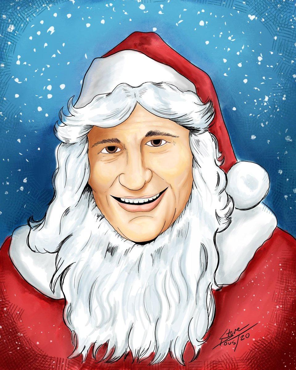 #Santa #art #Christmas #TheLastDriveIn #mutantfam #Artist SteveD Draws  cc:@kinky_horror @Shudder https://t.co/uVi3mawUCn