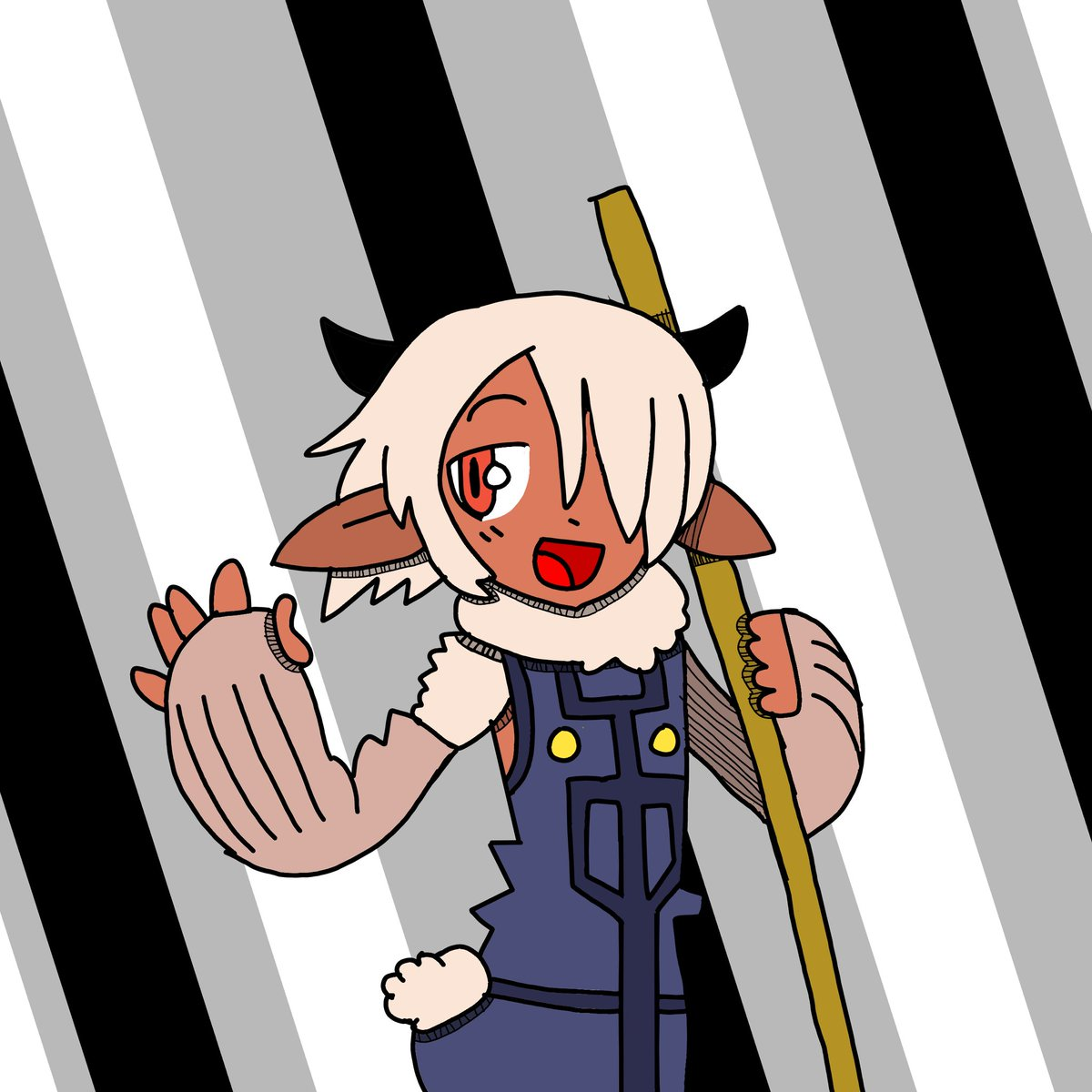 I tried recreating a panel from the Monster Musume manga with a Crazy Taxi style of shading. It wasn't reaching that style, so I gave up and tried my own thing.  #Monstergirls #digitalart #art #artistsontwitter #artwork #artist #manga
