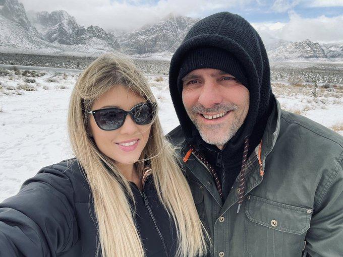 Snow in the desert ❄️ @toniribas https://t.co/M4i5Q9ytFw