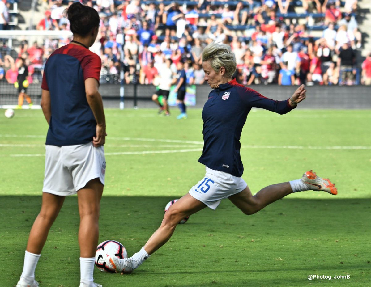 """If #Olympics2021 were outright canceled?""""That would be awful. Personally, I'd be devastated.A lot of my teammates would be devastated to miss out fully on a major championship because I don't think it would be postponed again."""" -M.Rapinoe #USWNT  .@SBNation"""