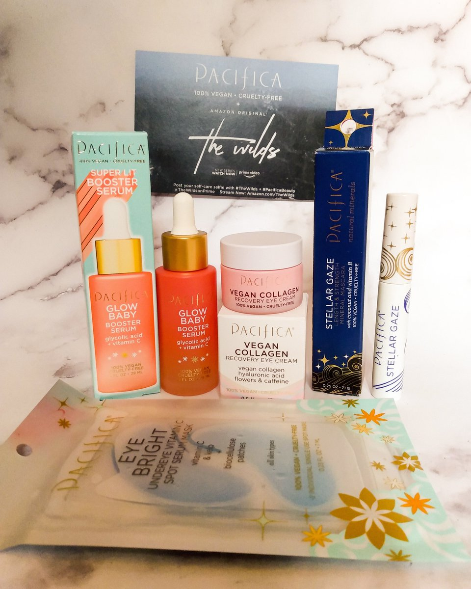 I am very happy to receive my products thanks to @pacificabeauty and @thewildsonprime and @gofooji   #giveaway #freeproduct #skincare #TheWilds #gofooji #pacificabeauty #beauty #freesamples