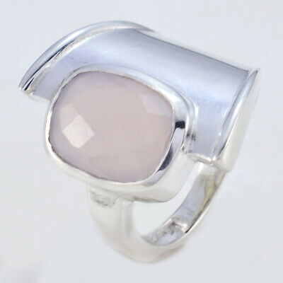 Exporter Pink 925 Sterling Silver Ring Mother's Ring UK   #riyogems #jewellery