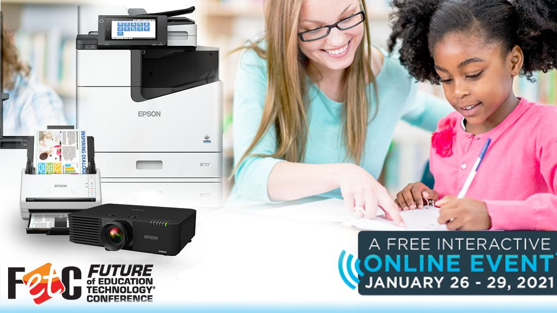 Don't forget to join us starting tomorrow for #FETC2021 to discover how Epson is a great choice for just about any school or district. Register now!  #edtech #FETC