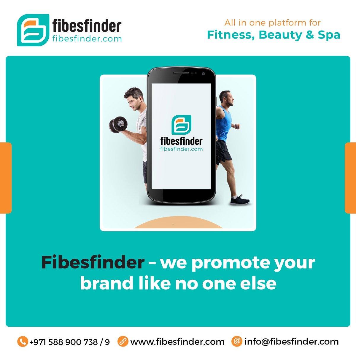 Fibesfinder – We Promote your Brand like no one else.  #fitness #gym #workout #fitnessmotivation #fibesfinder #dubai #fitness #beauty #spa #advertisement