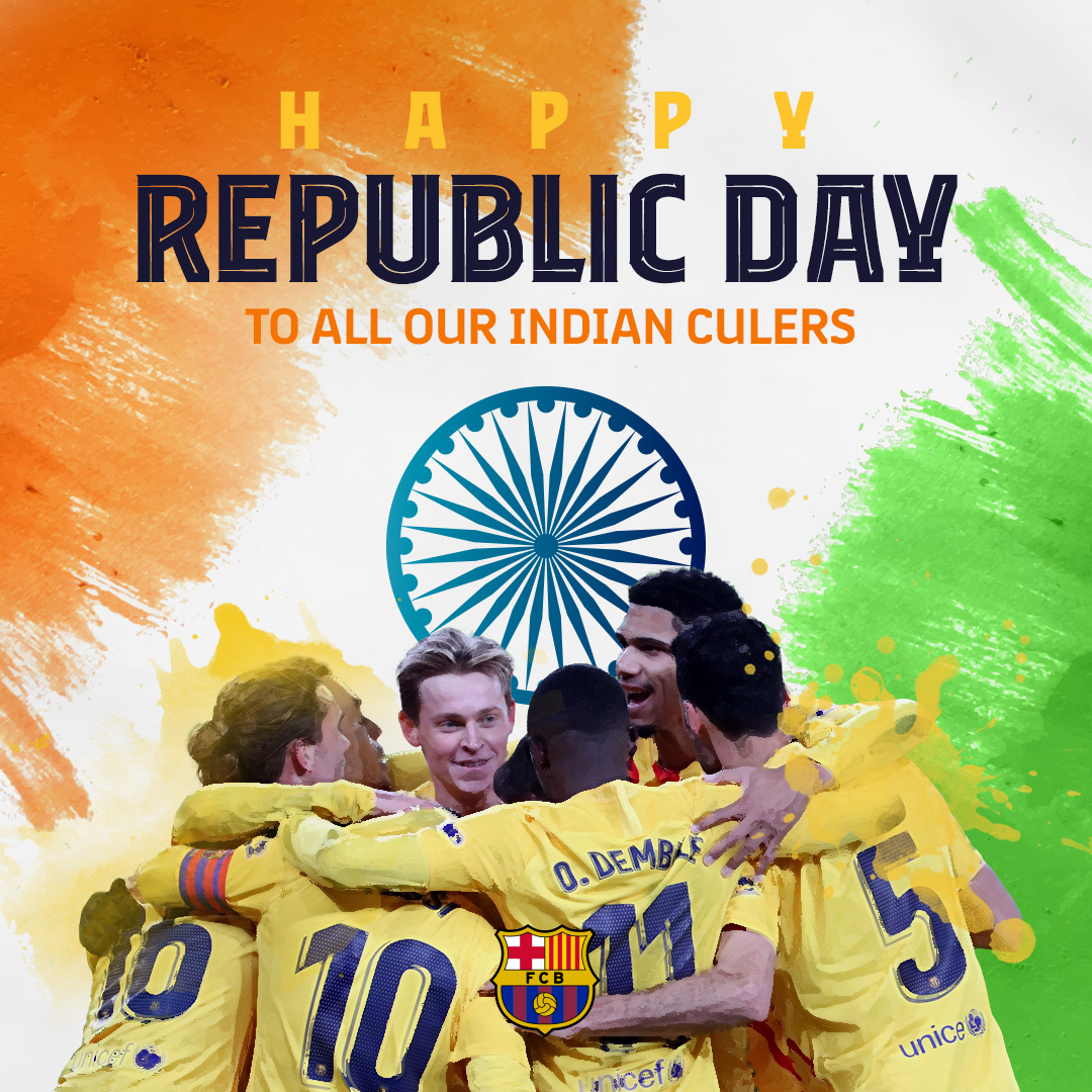 🇮🇳 Happy Republic Day to all our Indian Culers!