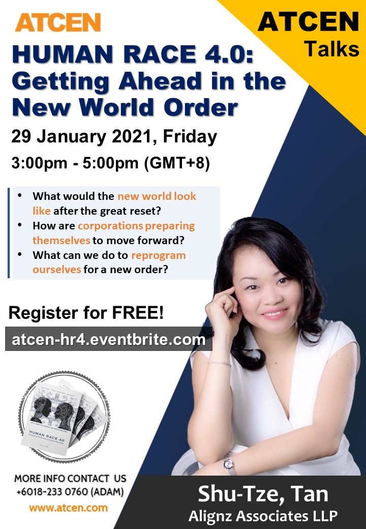 What would the new world look like after the great reset?  How are corporations preparing themselves to move forward? What can we do to reprogram ourselves for a new order?  HUMAN RACE 4.0: Getting Ahead in the New World Order @    #HumanRace #NewWorldOrder