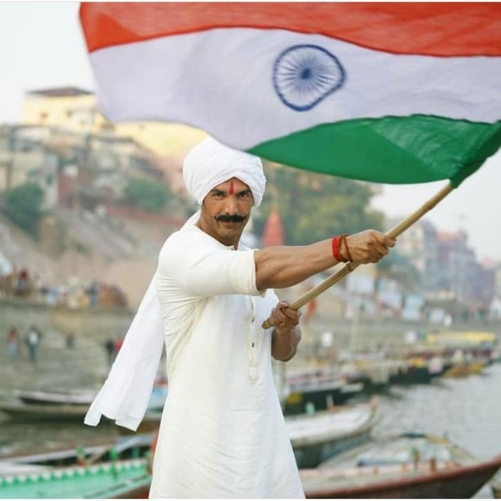 Here's #JohnAbraham wishing everyone a very #HappyRepublicDay from the sets of #SatyamevaJayare2! Arriving this Eid!  #Cinepolis #CinepolisIndia