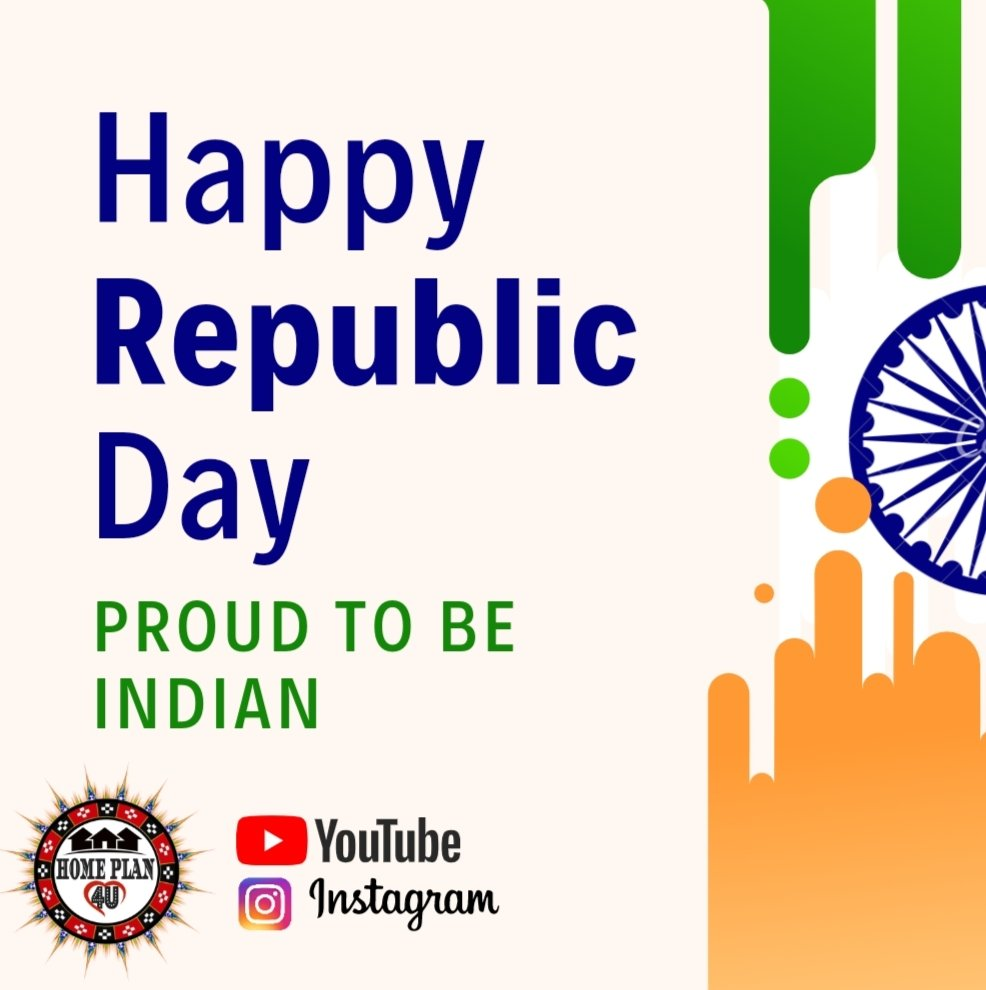 Follw : Home Plan 4u Happy Republic Day To all ❤️💐❤️ #republicday #india #indian #photography #happyrepublicday #republicdayindia #love #patriots #national #bhfyp #indianarmy #republic #republicdayparade #k #jaihind #editingapps #photoshop #lightroom #republicdaycelebration