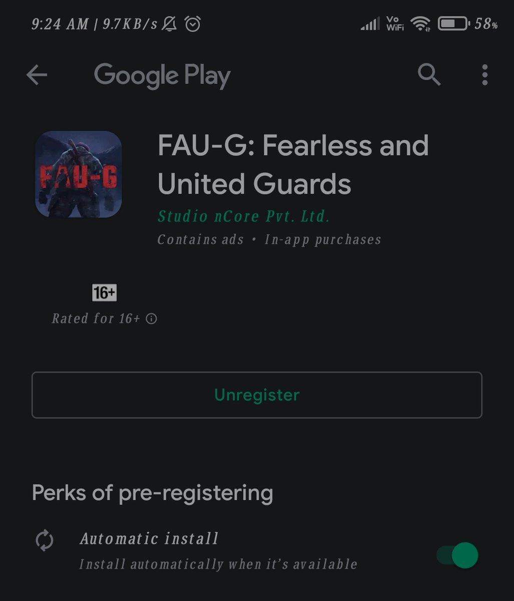 #FAUG  #FAUGGame  #26January2021   Where is faug game😢😢😢