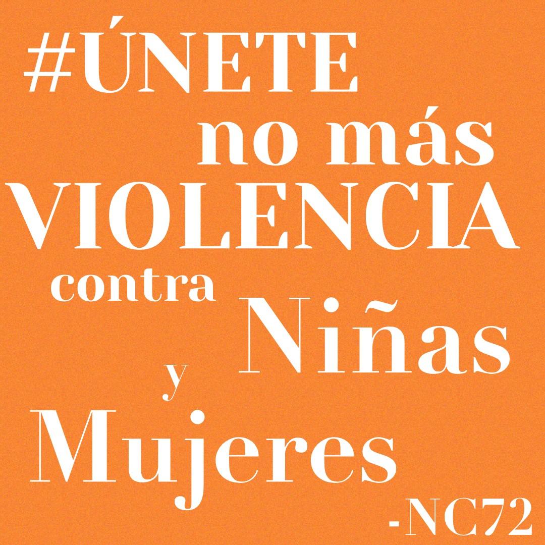 No seamos cómplices. #PintaElMundoDeNaranja  #DíaNaranja  #Únete