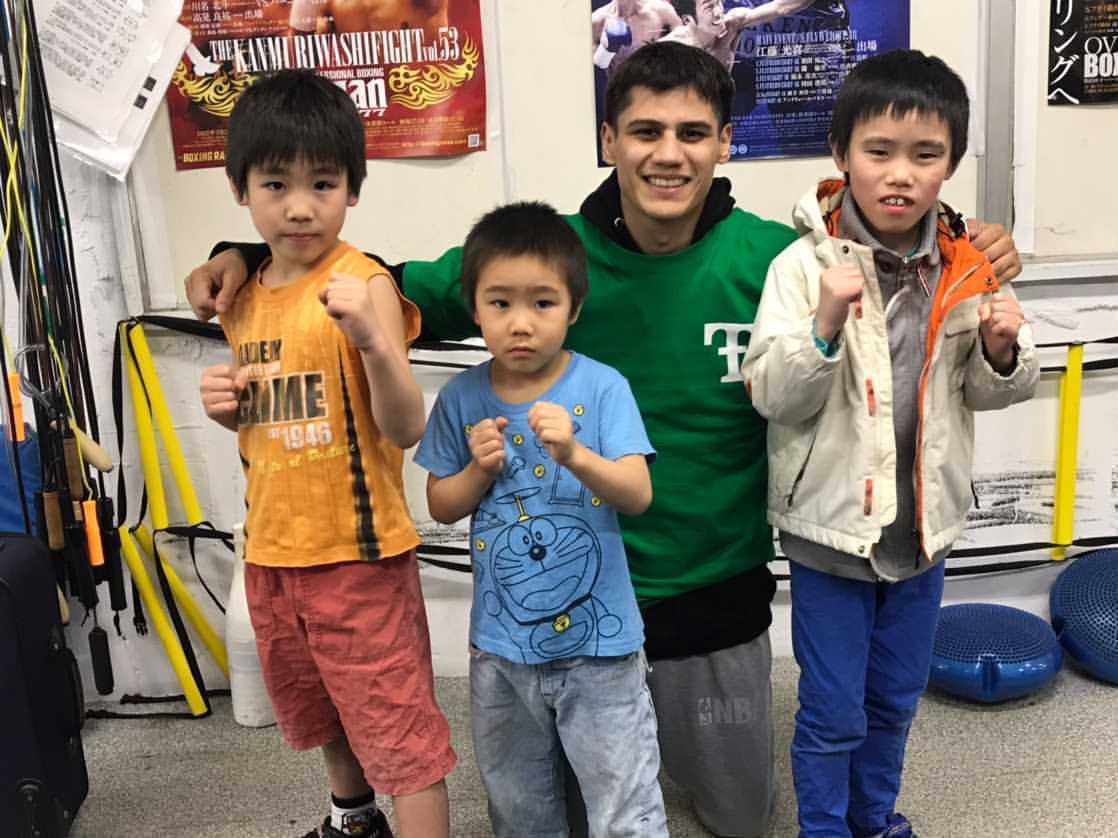 Memories of Japan. I will forever be grateful to the Kyokuto Boxing gym and family who opened their doors to me while my stay in Japan. Arigato gozaimasu!