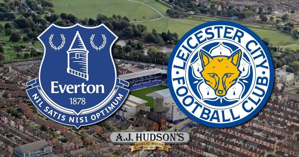 🆚 @LCFC  🗓 Wednesday 27 January  ⏰ 2.15pm 📍 @AJHudsons   Socially distanced indoor seating and patio seating available (snow will have melted by Weds).  Please bring your masks 😷   #EFC #COYB #UTFT #EVELEI 🔵⚪️