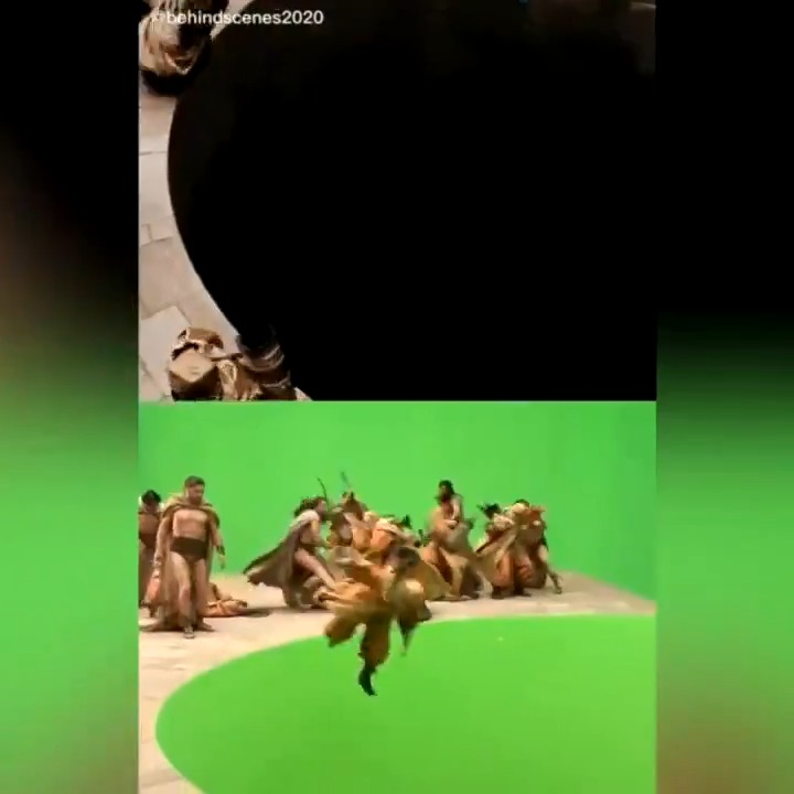 Behind the scenes of #300 via behindthescenes2020 / TT