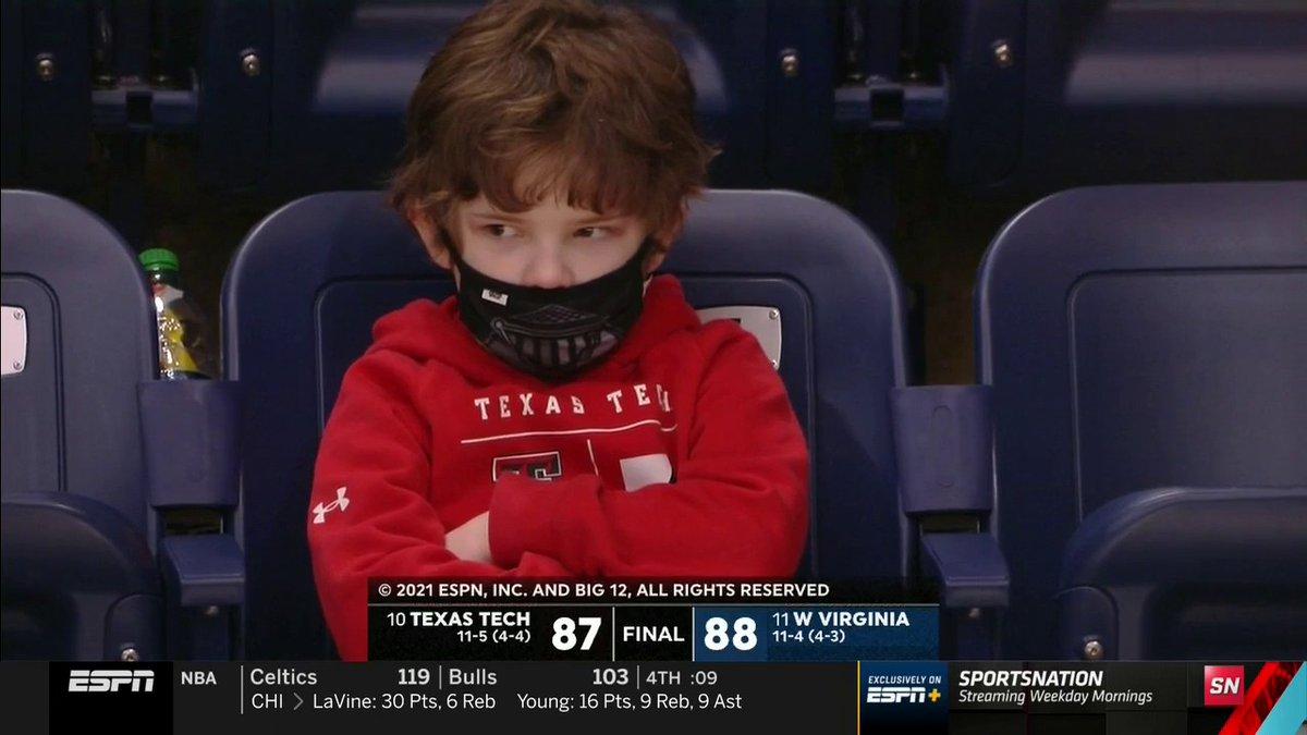 Texas Tech fans rn