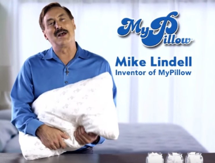 Thank God Twitter is cracking down on conspiracy theorist!  I knew Mike Lindell was lying when he said He had the best pillows. #ThanksTwitter