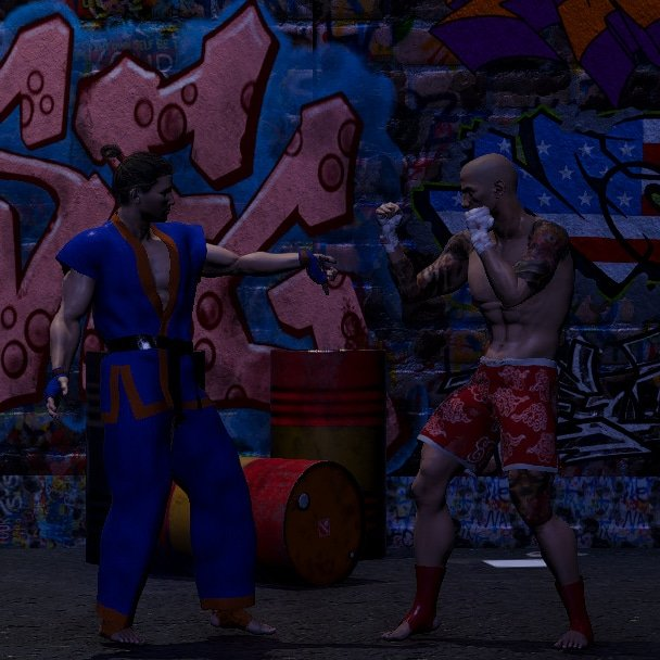 Preview of the graffiti alley stage #graffitiart #graffiti #unity #madewithunity #unity3dgame #Steam #indiedev #indiegame #fightinggame #fgc #IndieGameDev #IndieDevs #PCGaming #pcgamer #pcgames #gamedev #gamer #gamedevelopers #fightinggames #fightinggamecommunity #streetfighter