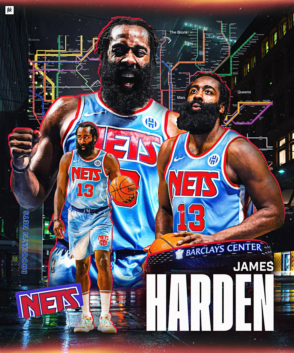 Artwork for @JHarden13  Behance |  https://t.co/q83iRTEPqe  #jamesharden #harden #nets #brooklyn #brooklynnets #nba #smsports #bradleyjackdesign #sports #sportsdesigns #sportsgraphics #sportsdesigner #sportsedits #basketballedits #basketball https://t.co/6ZQhTADqPk