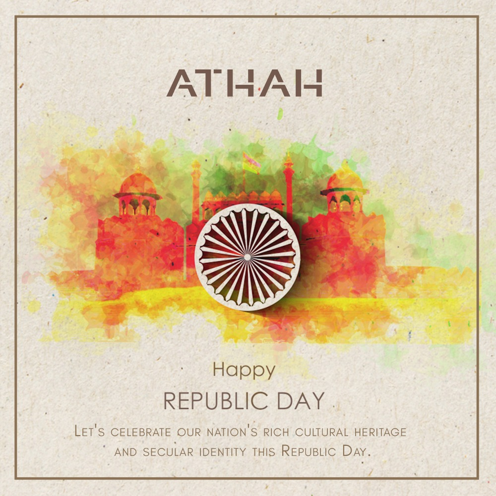 ATHAH celebrates the glorious beauty of India this Republic Day! Happy Republic day to all of you! #Republicday #proudindian #republicday2021 #Athah #dresses #fashion #style