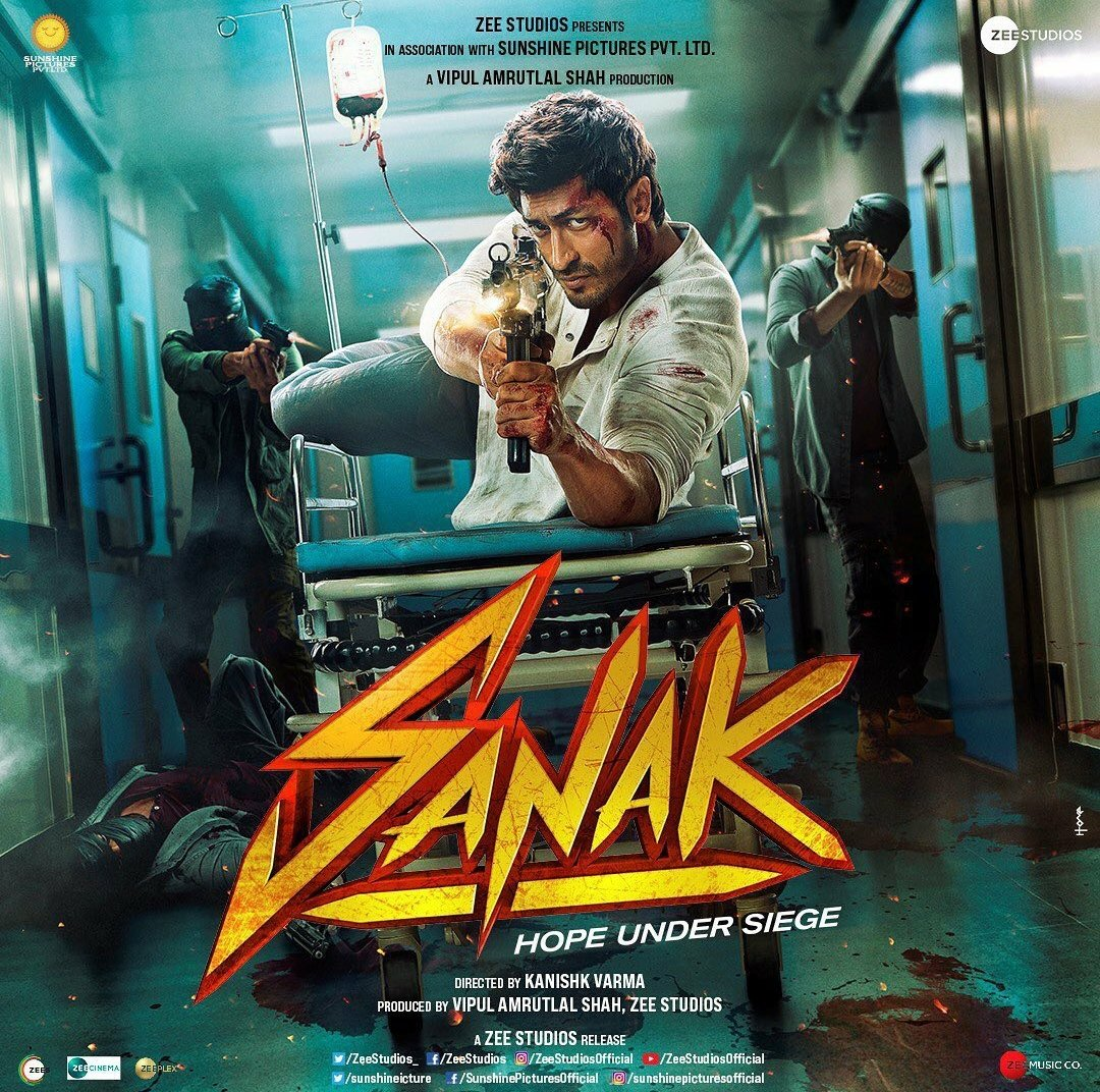 When love is in danger nothing can stop the rage! Here's the first look of #Sanak starring #vidyutjamwal! #ComingSoon to a #Cinepolis near you!  #Cinepolis #CinepolisIndia
