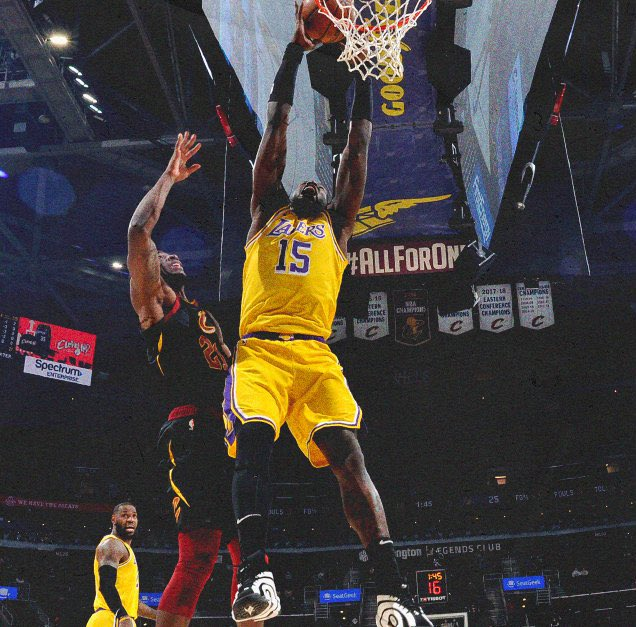 Hargrave '12 @MONSTATREZZ posted 15 points and 6 rebounds in @Lakers win over the Cavs!  #HargraveFamily #HargraveintheNBA #LakeShow #NBA