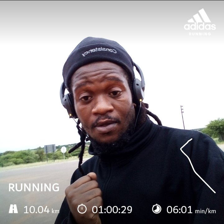 The aim is to be consistent in everything good that I do. Morning rent paid. #Day14 #FetchYourBody2021 #RunningWithTumiSole #RunningWithLulubel