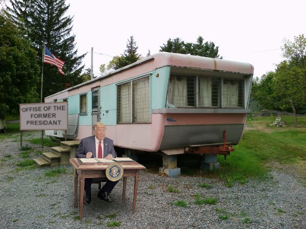 Replying to @RoboticGladiat1: The Office of the Former President is now open for business.