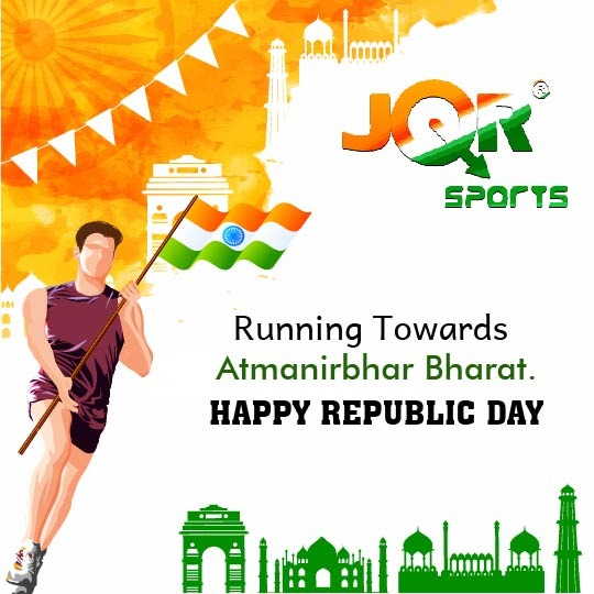 JQR wishes you a Happy Republic Day  #LetsRestartOurLife #republicday2021 #jqrsports #sportswear #activewear #activelifestyle #activelife #footwear #fashion #madeinindia #running #soft #comfortable #style #shoes #sportsshoes #trendy #vibrant #sporty #shoegame
