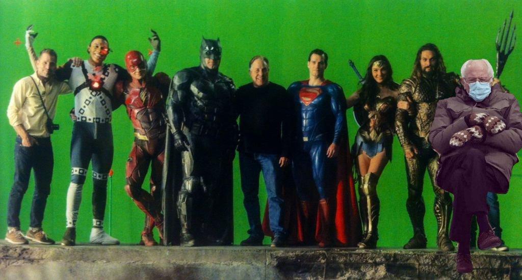 #JusticeLeague #ZackSnydersJusticeLeague #BenAffleck #GalGadot #rayfisher #JasonMamoa #Batman #WonderWoman #Cyborg #TheFlash #Superman #Aquaman #ZackSnyder #DC #DCEU #dccomics #BernieSandersMittens #BernieSanders