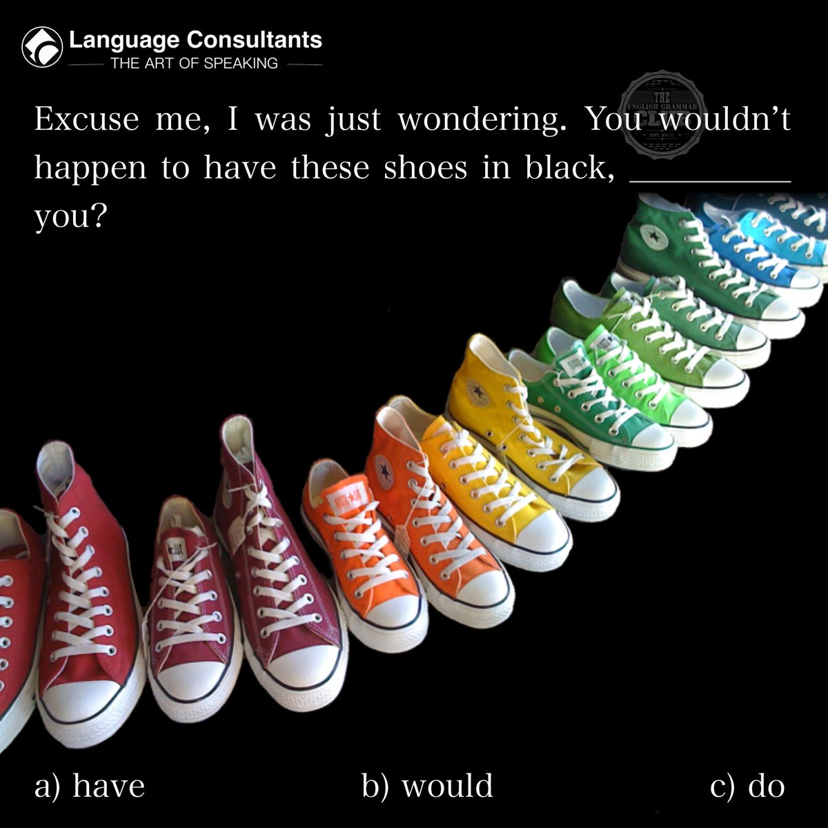 #english 🇬🇧 #englishlearning #learnenglish #languagelearning #englishonline #italianonline #language #consultants #business #shoes #trainers #allstars #shoeshopping #shoeshop #allstarshoes #blackshoes #style