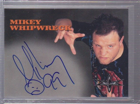 Day 26 of 2021 and my @Topps #wcw #wrestlingcard #wrestlingautographs collection brings you