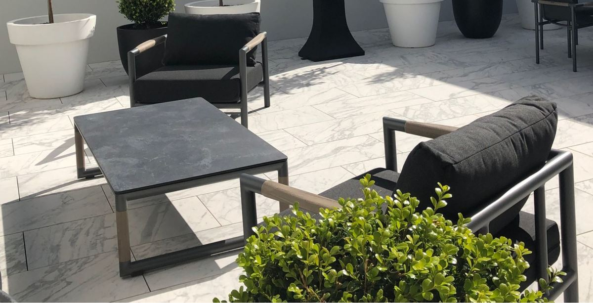 Subtle French design belongs to no particular era. At home in ultra-contemporary surroundings, or a more classical villa, it is ageless!  Shop now:   #Poynters #OutdoorLiving #Design #Style #Summer