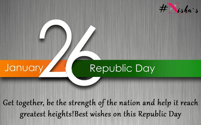 You don't become what you want, you become what you believe!!  Happy Republic Day! #26January #nishas #2021newyear