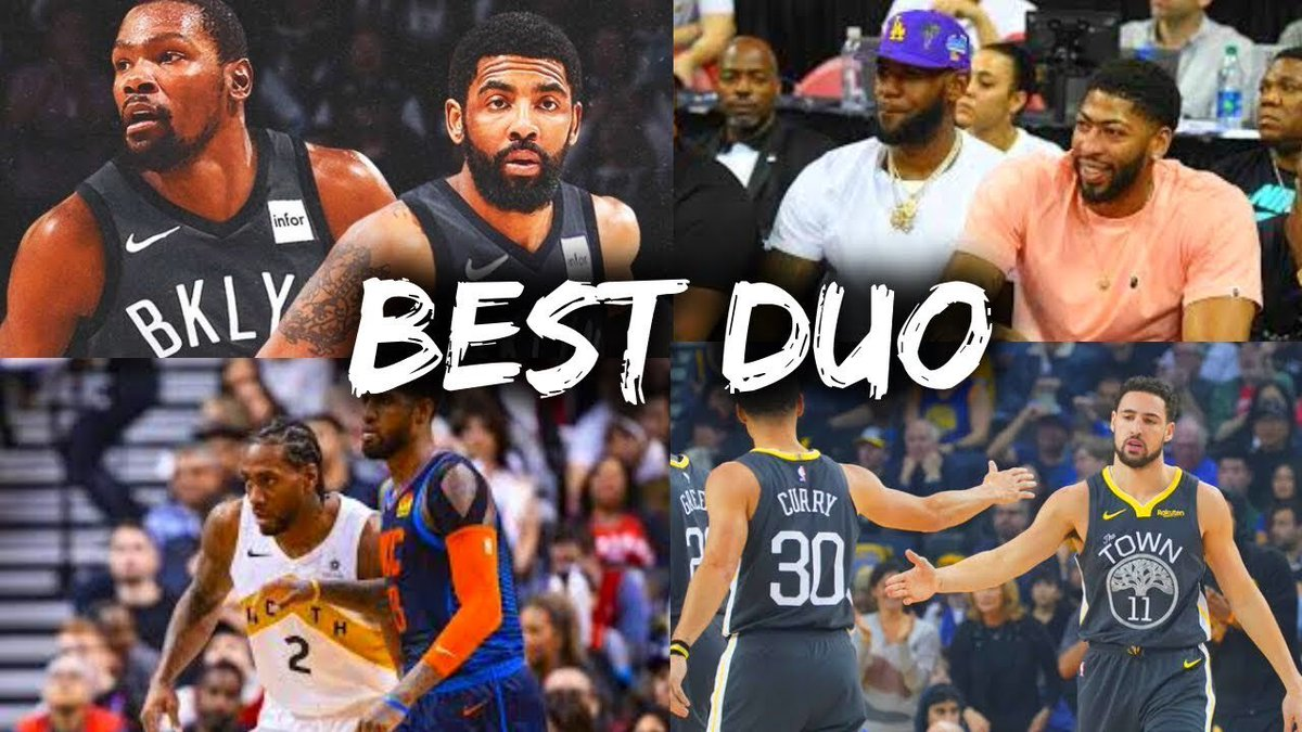 🚨🚨🚨🚨🚨🚨🚨 NEW EPISODE taking it to the playground 2 on 2 we bought back the tournament to see who's the best duo in the nba #nba #nbabasketball #basketball #ballislife #basketballneverstops #kingjames #kevindurant #jamesharden #shaq #basketballreference #anchor https://t.co/DUcb03ZIpH