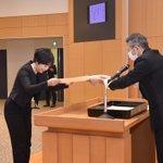 Image for the Tweet beginning: 坊野恵子 助教 学位記を授与されました。 おめでとうございます!今後一層のご活躍を祈念申し上げます。 #慈恵 #神経内科 #脳神経内科 #医学生 #研修医