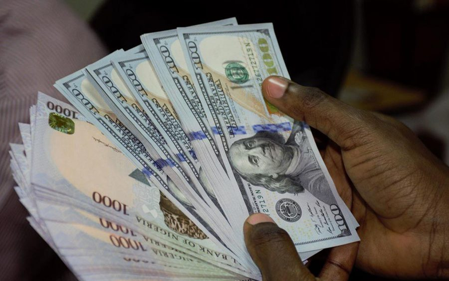 Naira falls at NAFEX window as dollar supply continues to decline